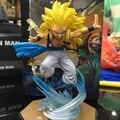 Dragon Ball Z Acción Figuarts ZERO Super Saiyan Gotenks Fgiures 3 Dragon Ball Z Figura de Colección Modelo Juguetes