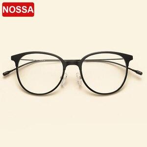 Image 1 - NOSSA Brand Ultralight TR90 Optical Glasses Frames Korea Style Fashion Casual Eyewear Frames Men Women Myopia Eyeglasses Frame