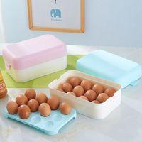 Egg Container Storage box 48 grid Bilayer Basket Food organizer home kitchen Gadgets Items Accessories Supplies Products