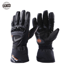 New Motorcycle Gloves Touch Screen Winter Warm Waterproof Windproof Protective Gloves Guantes Moto Luvas Alpine Motocross Stars цена