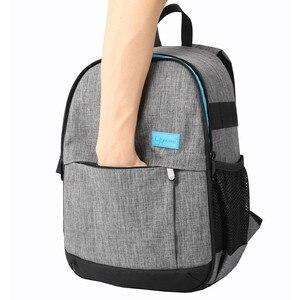 Image 4 - Bolsa de hombro para cámara réflex digital de fotos, impermeable, a prueba de golpes, antirrobo, bolsas de trípode de viaje, funda para Canon, Nikon, Sony, SLR