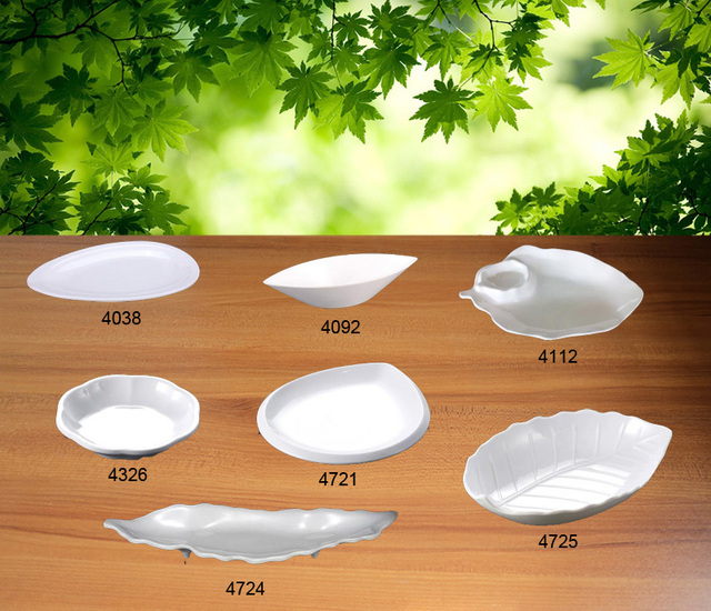 Melamine Dinnerware Dinner Plate Leaf Shaped Plate Western Restaurant Sashimi Dish A5 Melamine Dishes Melamine Tableware & Melamine Dinnerware Dinner Plate Leaf Shaped Plate Western ...