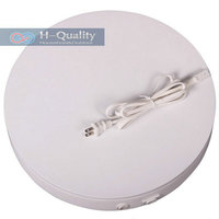 400X60MM Heavy Duty Electric Display Turntable Stand For Mannequin Product With FUSE Protection FCC CE Ceritficate