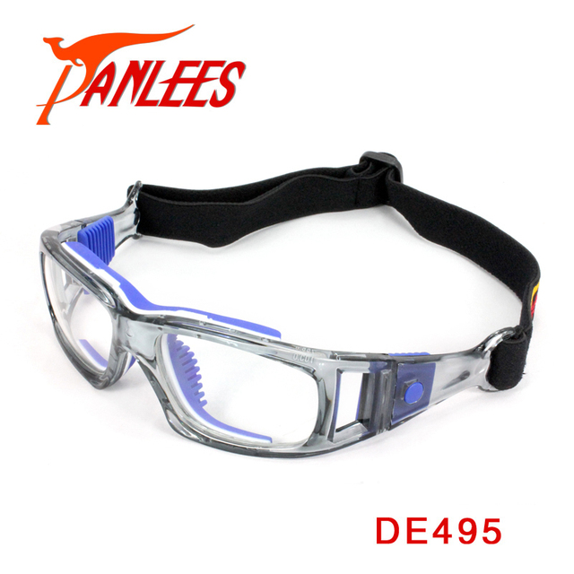 Panlees High Quality Football Glasses Soccer Prescription Glasses Basketball Sports Goggles Basketball Goggles Free Shipping