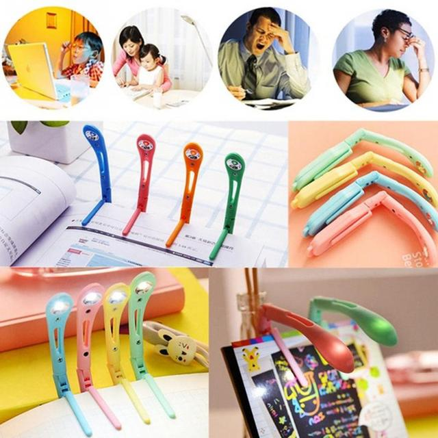Portable and light  book clip reading light