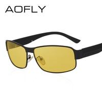 AOFLY Night Vision Glasses Brand Design Polarized Sunglasses Women Men Driving Anti Glare Goggles AF8045