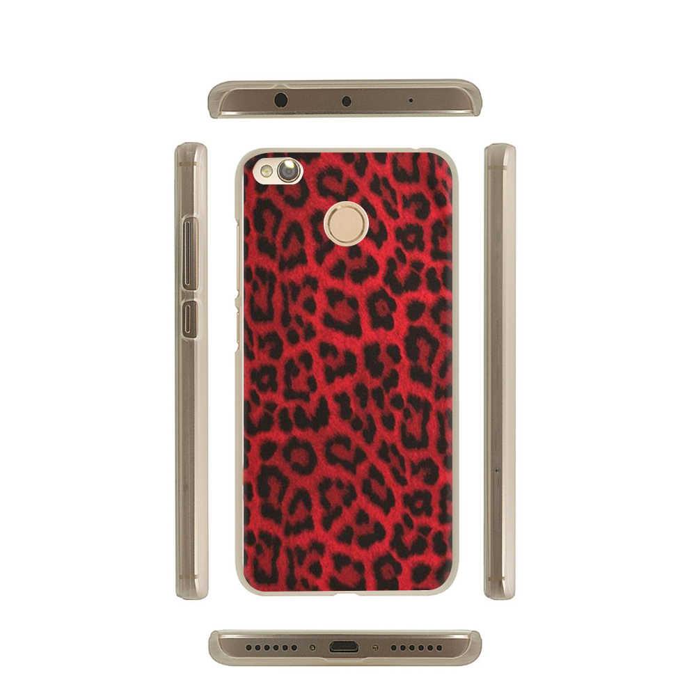 Тигр леопардовая расцветка жесткий чехол для телефона с рисунком в виде обложка чехол для Xiaomi Mi 5 5S 6 8 Lite SE A1 A2 F1 9 9SE макс 3