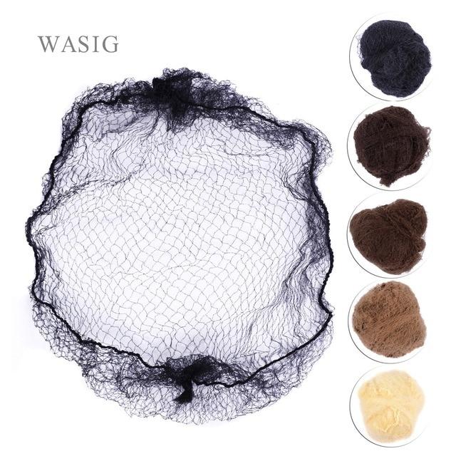 Whole Sale 500Pcs Hairnet 5MM Nylon Hair Nets Invisible Disposable 20Inch Five Colors Mix Black,Bark Brown,Brown,Blonde