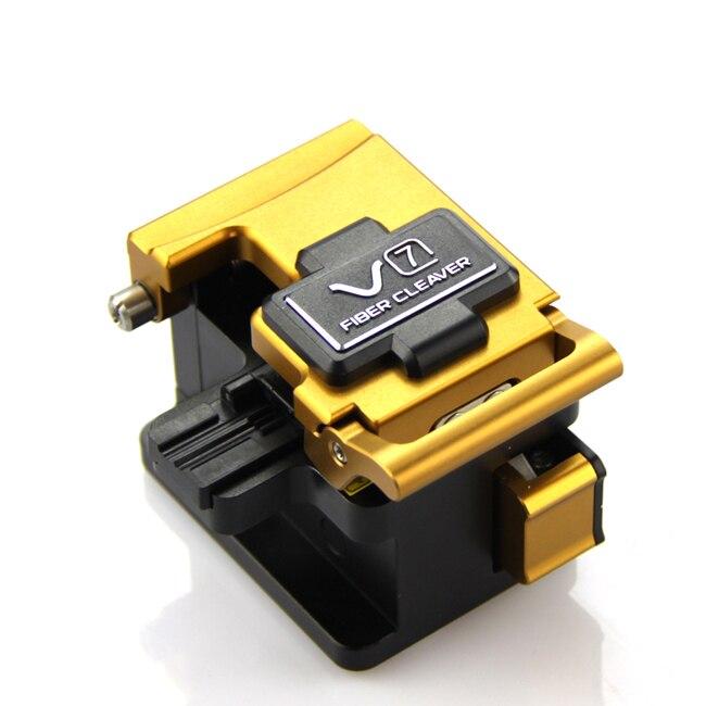 Venta caliente, cortador óptico de fibra óptica de precisión INNO V7 Cortador chino de fibra óptica Cleaver S09, cortador de fibra óptica Comparable, cuchilla de fibra de alta precisión
