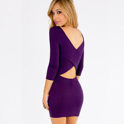 Online Get Cheap Sexy Purple Dress -Aliexpress.com  Alibaba Group