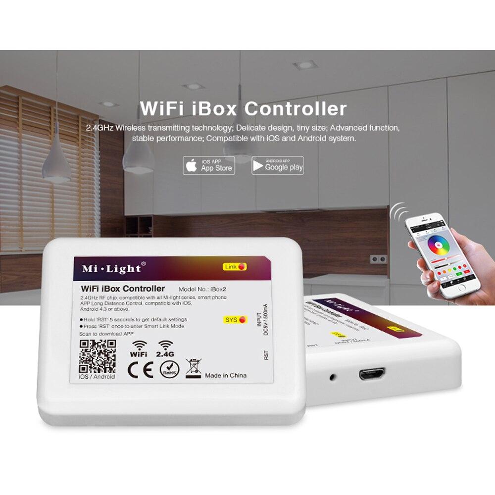 Mi Light Wifi Ibox Led Controller 2 4g Wireless Rgb Ios