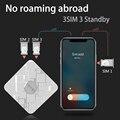 Sim-карта SIMadd pro 3SIM 3 в режиме ожидания 3SIM активирует Onlin iShere SIM ADD для i телефона 6/7/8/X SIM дома  нет необходимости носить с собой  нет роуминга