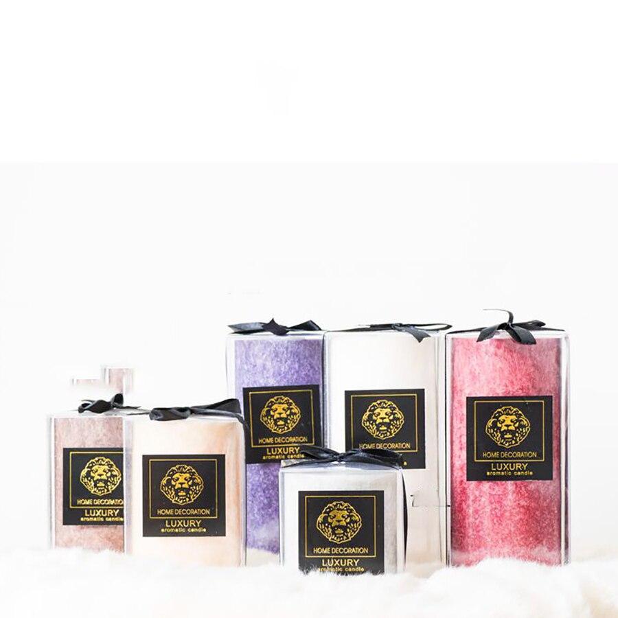 Accueil Scentend Bougie noël anniversaire bougies désherbage décoration Bougie décorative parfumée bougies cire violet WZE011