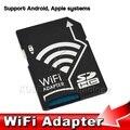 Alta qualidade sem fio micro sd microsd sdhc tf cartão de memória flash Dispositivo De Transferência do conversor Adaptador Wi-fi para iOS para Android para câmera