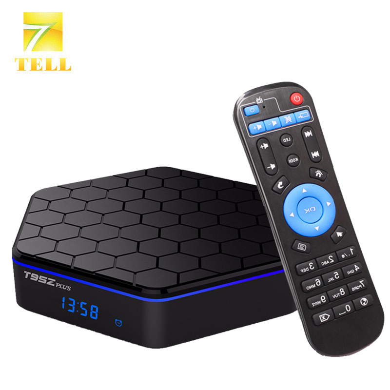 Prix pour T95Z Plus 3 GB 32 GB Amlogic S912 Android TV Box Android 6.0 4 K x 2 K H.265 Décodage 2.4G + 5G Double Bande WiFi Media Player
