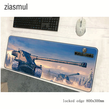 World of Tanks mousepad 800x300x3mm pad to mouse notbook computer mouse pad Popular gaming padmouse gamer
