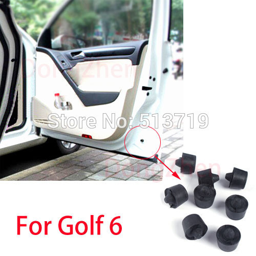 Free shipping 1PCS car Door bumper block cover accessories For Golf 6 parking car styling 1K8837529