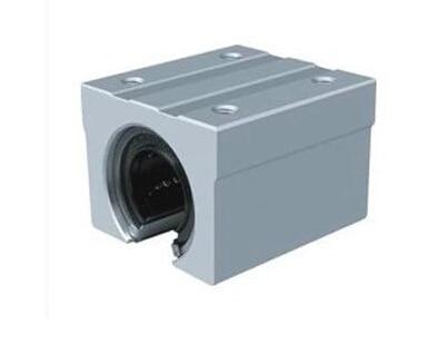 2pcs SBR16UU CNC Linear Ball Bearing Support Unit,pillow blocks adjustable double bearing live revolving centre diy for mini lathe machine