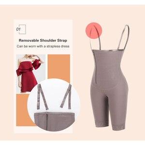 Image 4 - מאהב יופי הרזיה גוף מלא Shaper חלקה Underbust Shapewear בטן בקרת לדחוף למעלה Slim בגד גוף מותניים מאמן ומעצב