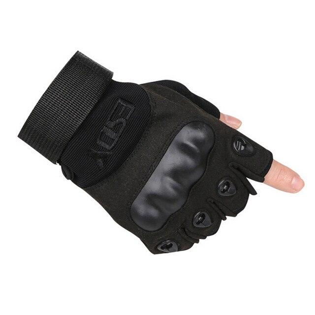 c3ec096a540e8f ESDY wojskowy rękawice taktyczne Outdoor rękawiczki bez palców armia  antypoślizgowe Aports z mikrofibry męskie sportowe rękawice