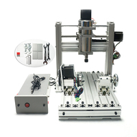 DIY CNC Frame 3020 Milling and Drilling machine 400W Wood Router Lathe