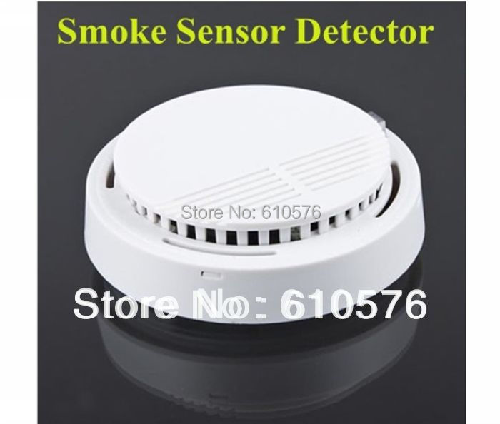 photoelectric wireless smoke detector for fire alarm sensor free shipping on. Black Bedroom Furniture Sets. Home Design Ideas