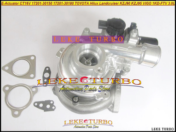 CT16V 17201-30180, 17201-30150, 17201-30181 Turbo turbocompresor para Toyota Land Cruiser Hilux KZJ90 KZJ95 D-4D 1KD-FTV 1 KDFTV 3.0L
