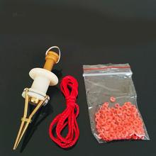 Simpleyi Earthworm bloodworm Clip Bait Clip Earthworm Clip wędkarskie narzędzia wędkarskie przynęty wędkarskie tanie tanio Ocean łódź wędkowanie Plastikowe