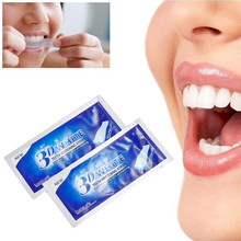 1 PC 3D Wit Gel Tanden Tanden Whitening Strips Gel Tandheelkundige Bleken Tooth Whitening Strip Mondhygiëneprotocol TSLM2(China)
