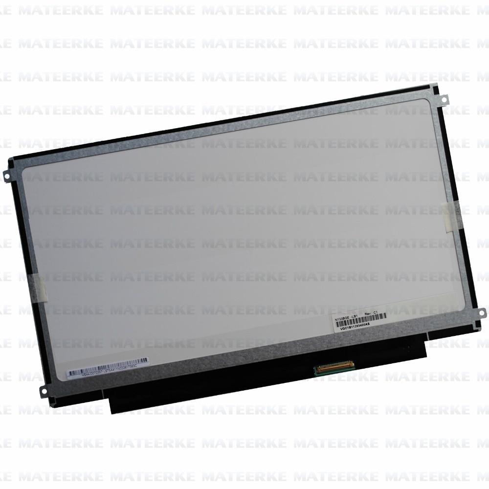 LAPTOP 13.3 SLIM LCD LED SCREEN LP133WH2 TLA3 A4 N133BGE-LB1 B133XW01 V.2 V.3 B133XW03 V.2 V.3 LT133EE09300 n133bge lb1 13 3 inch laptop lcd screen 1366x768 hd edp 30pin n133bge lb1 n133bge lb1