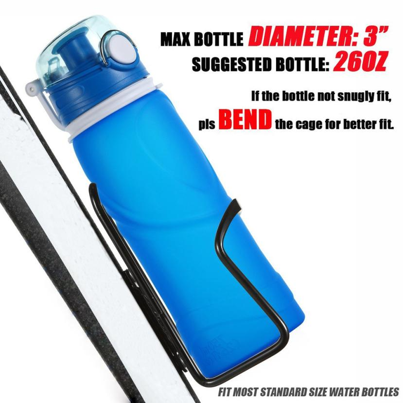 2 Pcs Water Bottle Holder Carrier Bicycle Drink Container