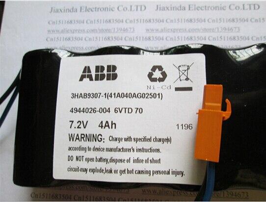 Nouvelle batterie Robot 6VTD70 4944026-004 4944026-4 7.2 V 4000 mah 4AH la batterie CPU