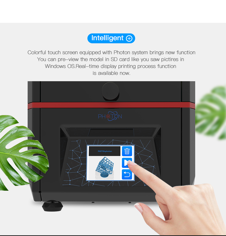 Anycubic 3D Printer Photon UV Resin SLADLP Light-Cure Impresora 3D with touch screen LCD High Precision (6)