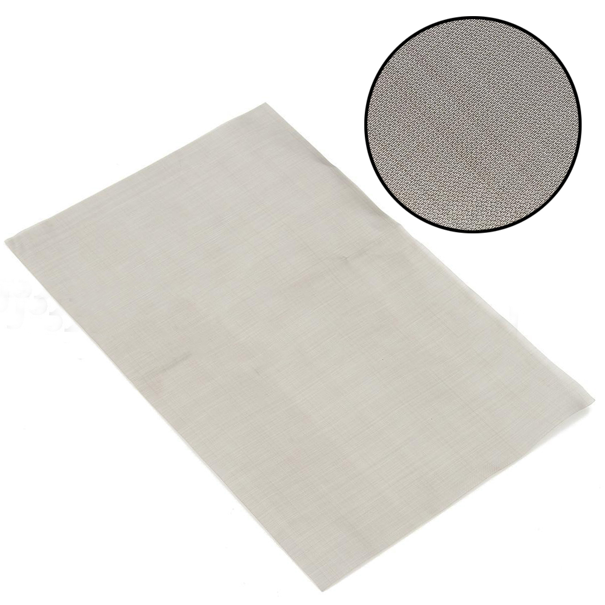 1pc Durable Silver 180/300/325/400 Mesh Woven Wire Mayitr Stainless Steel Filter Woven Wires Sheet Filter for Mining 30cm*20cm 1 roll stainless steel woven wire cloth screen filter 120 mesh 125 micron 30x90cm with corrosion resistance