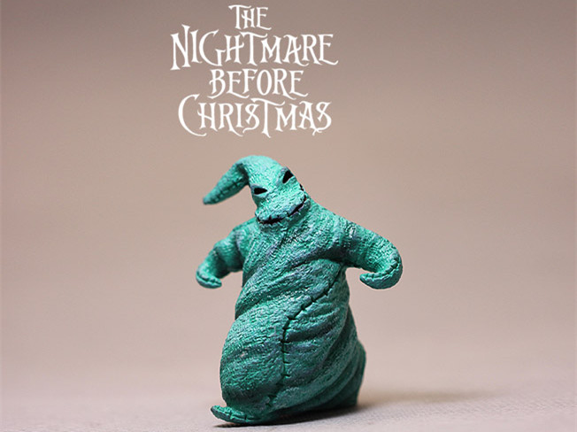 Limited Collection Rare Original The Nightmare Before Christmas Figure Toy DIY Material Decoration