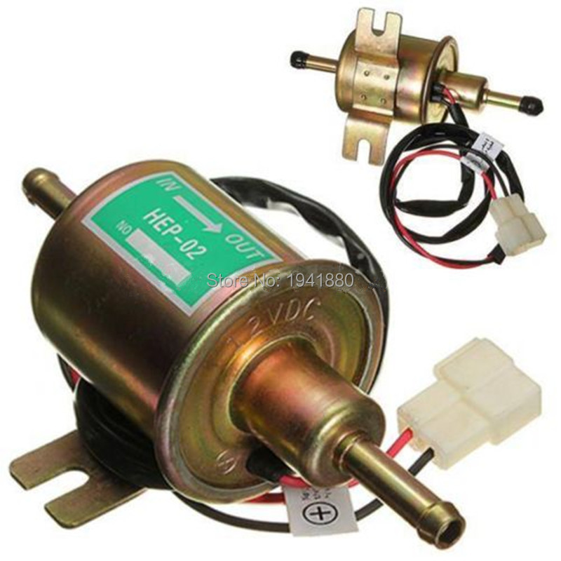 Universal High Quality Gas Oil Electric Fuel Pump For Petrol Diesel 2.5-4PSI 12V