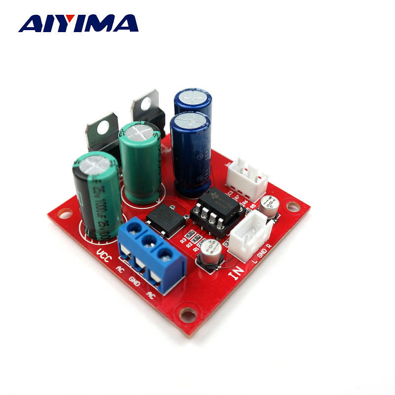 Aiyima Vintage Player MM MC Magnetic Head Player Board NE5532 Pre-amplifier Board Dual Power Supply