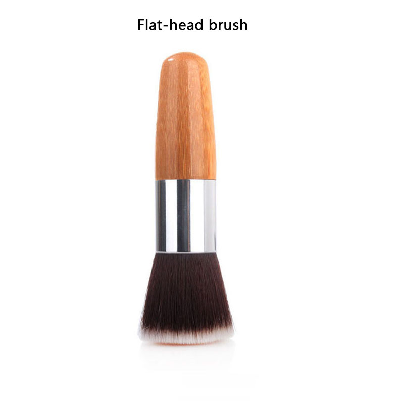 1PCS Professional Makeup brushes Bamboo Handle Powder Concealer Liquid Foundation Makeup Tools Beauty Cosmetics  Brusher-in Eye Shadow Applicator from Beauty & Health on Aliexpress.com | Alibaba Group