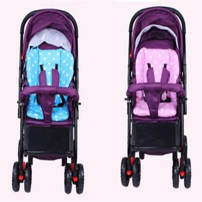 ٩(^‿^)۶Grueso coloridos bebé infantil cochecito asiento Pram Cojines ...