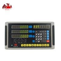Прецизионные измерительные инструменты цифровой индикация литиевая батарея кодер для гольфа 3 оси dro наборы 5um