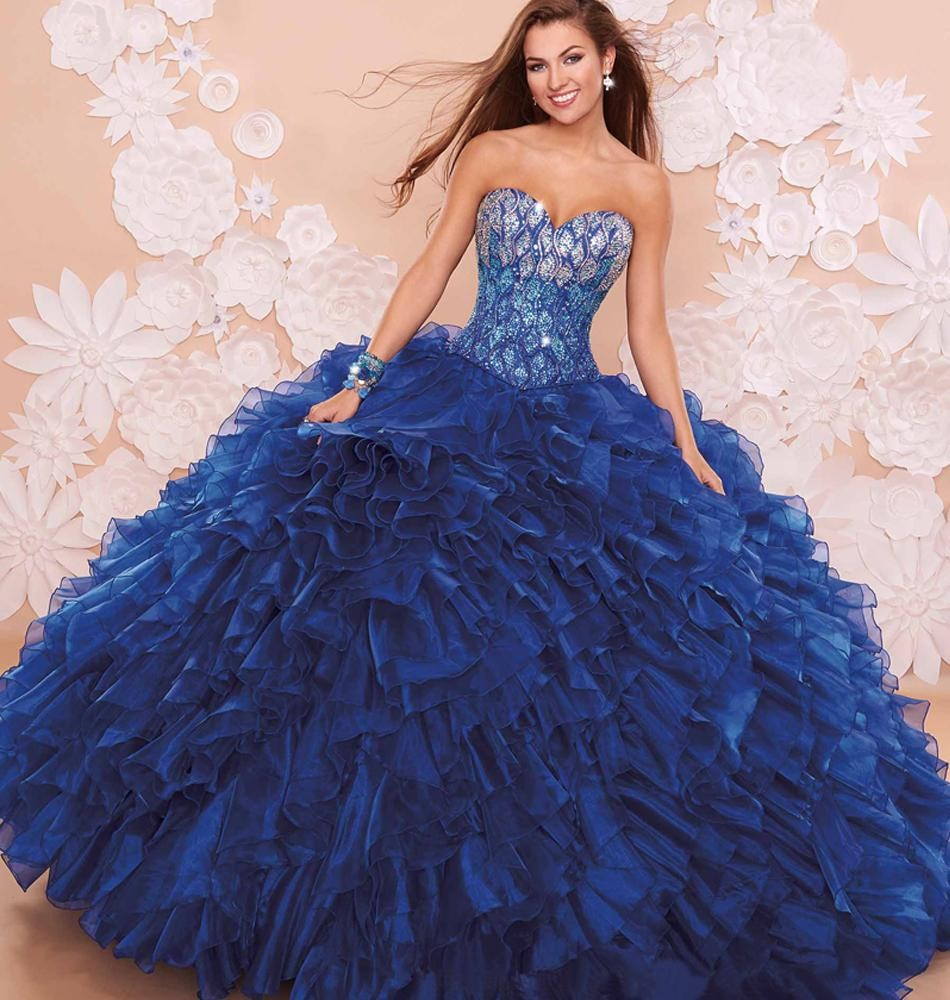 Popular Navy Blue Quinceanera Dresses-Buy Cheap Navy Blue ...