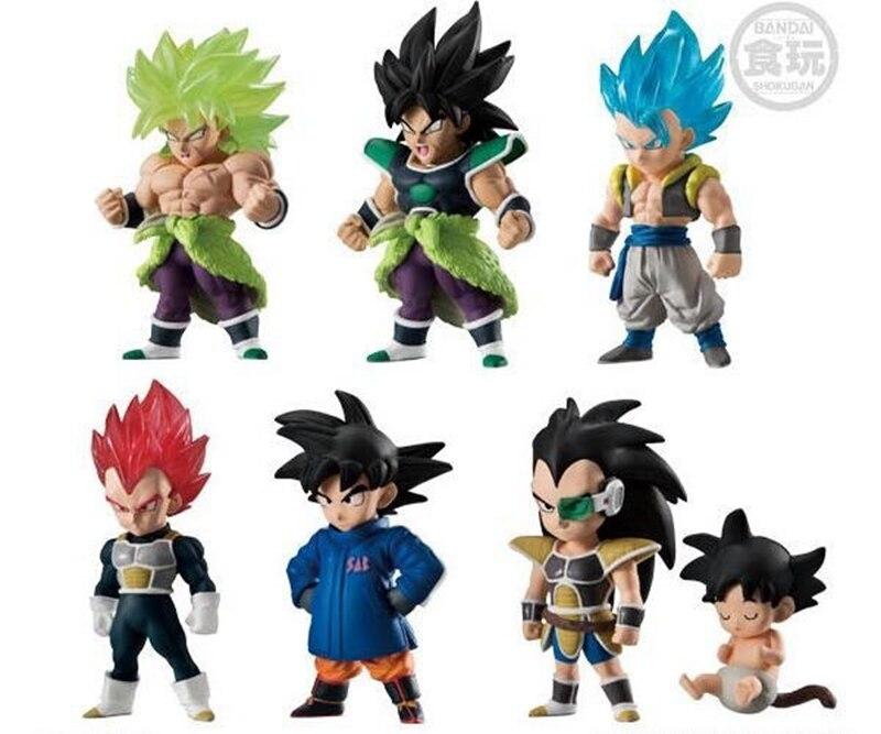 WSTXBD BANDAI Dragon Ball Z DBZ ULTIMATE SOLDIERS Adverge 9 Broly Blue Gogeta Vegeta Goku PVC Figure Toys Figurals Dolls