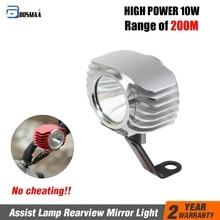 BOSMAA Motorcycle LED Headlight 6W/10W/15W Car Fog Light DRL Spotlight 6000K White External Hunting Driving Head Lamp 1pcs