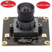 4K USB Camera module High frame rate 3840x2160 Mjpeg 30fps Webcam With SONY IMX317 4K Pixel Color CMOS Sensor and USB2.0 Output