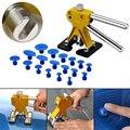 Ferramentas de Remoção de carro Dent PDR Paintless Dent Dent Levantador Levantador de Ouro extrator + Kit Car Body Repair Tool Removal Hail Tabs 18x