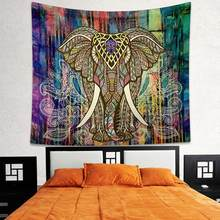 Decor Mandala Tapestry Wall Hanging Hippie Throw Bohemian Dorm Bedspread Table Cloth Curtain(China)