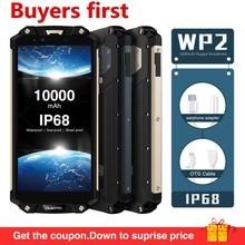 Oukitel WP2 NFC IP68 Водонепроницаемый 18:9 6,0 «FHD10000mAh мобильного телефона Android 8,0 4 GB 64 GB MT6750T Восьмиядерный 16MP 4G LTE смартфон
