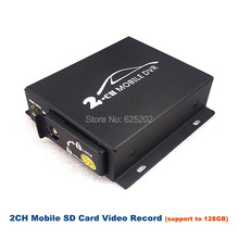 2-CH Support to 120GB SD Card Mobile Video Record for Industrial Applications Such as buses and Automobiles