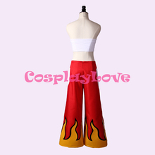 Fairy Tail Erza Scarlet Red Flame Cosplay Costume Sexy Women Costume