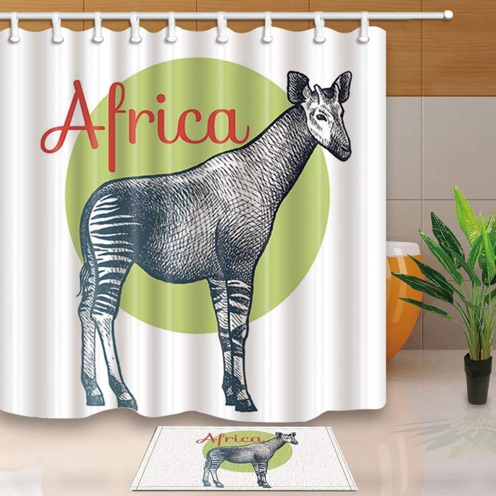 Hot Sale Wild Animal Decor, African Okapi Tropical Rainforest ...
